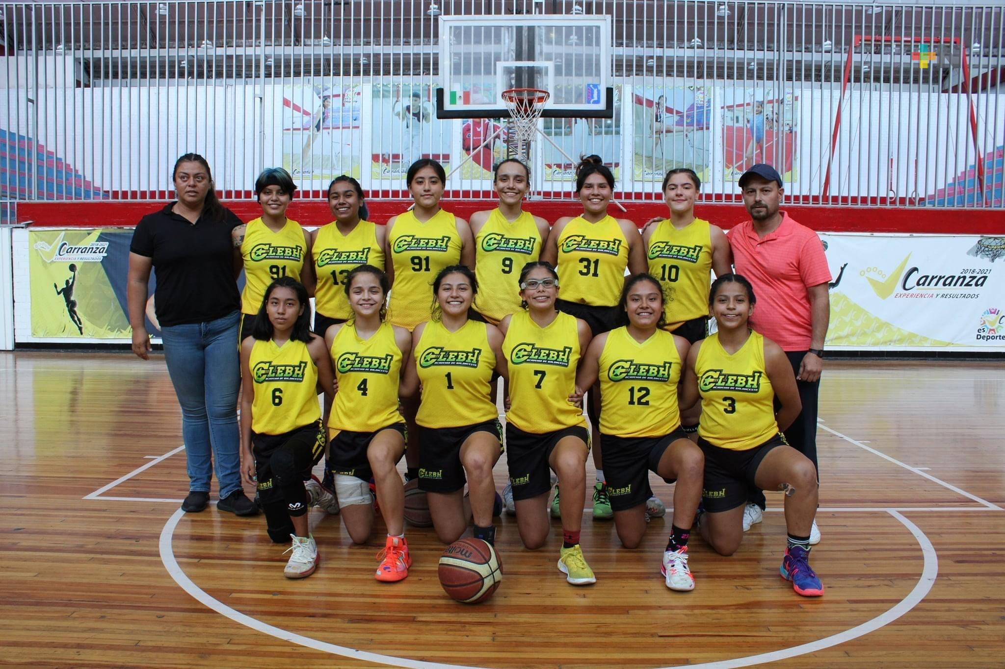 Veracruz conquista título nacional femenil de basquetbol U-16