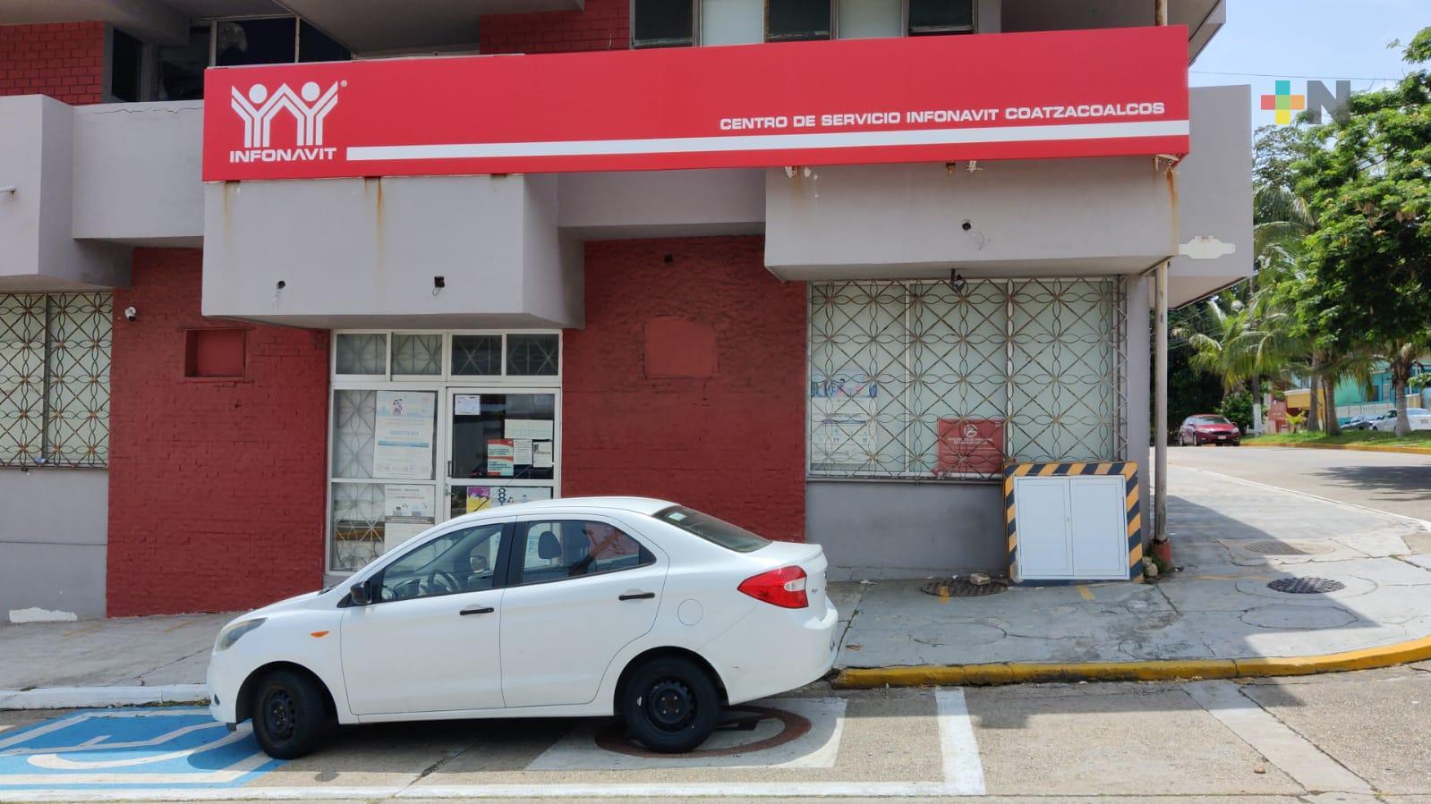 Cerrarán dos días oficinas de  Infonavit en Coatzacoalcos por contagio de COVID-19