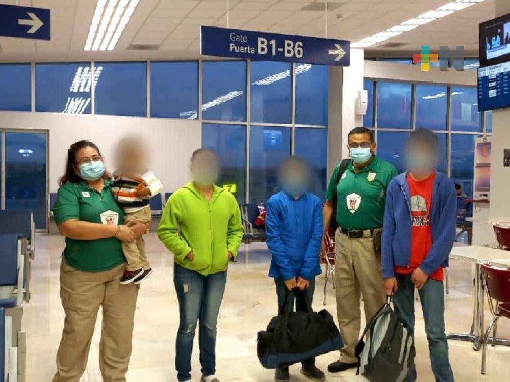 Instituto de Migración de Veracruz entregó a menor a las autoridades hondureñas