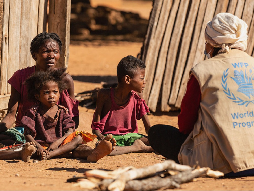 Medio millón de niños menores de cinco años sufrirán desnutrición aguda en Madagascar