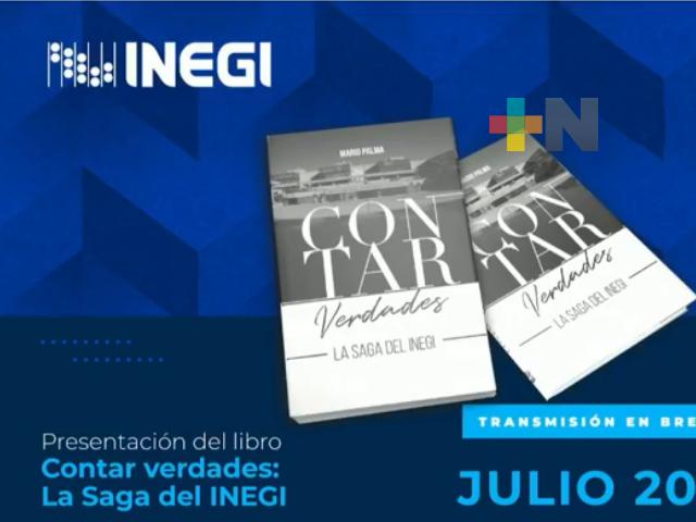 Presentaron libro sobre la historia del INEGI