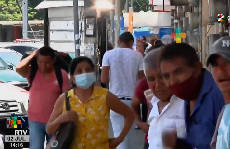 Mercado Hidalgo, zona donde menos se usa el cubrebocas