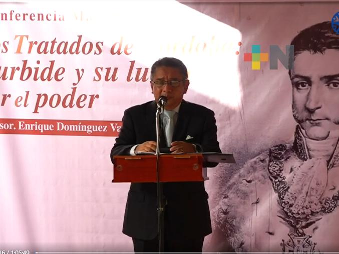 """Ofrecen la conferencia """"Iturbide y su lucha por el poder"""", en Córdoba"""