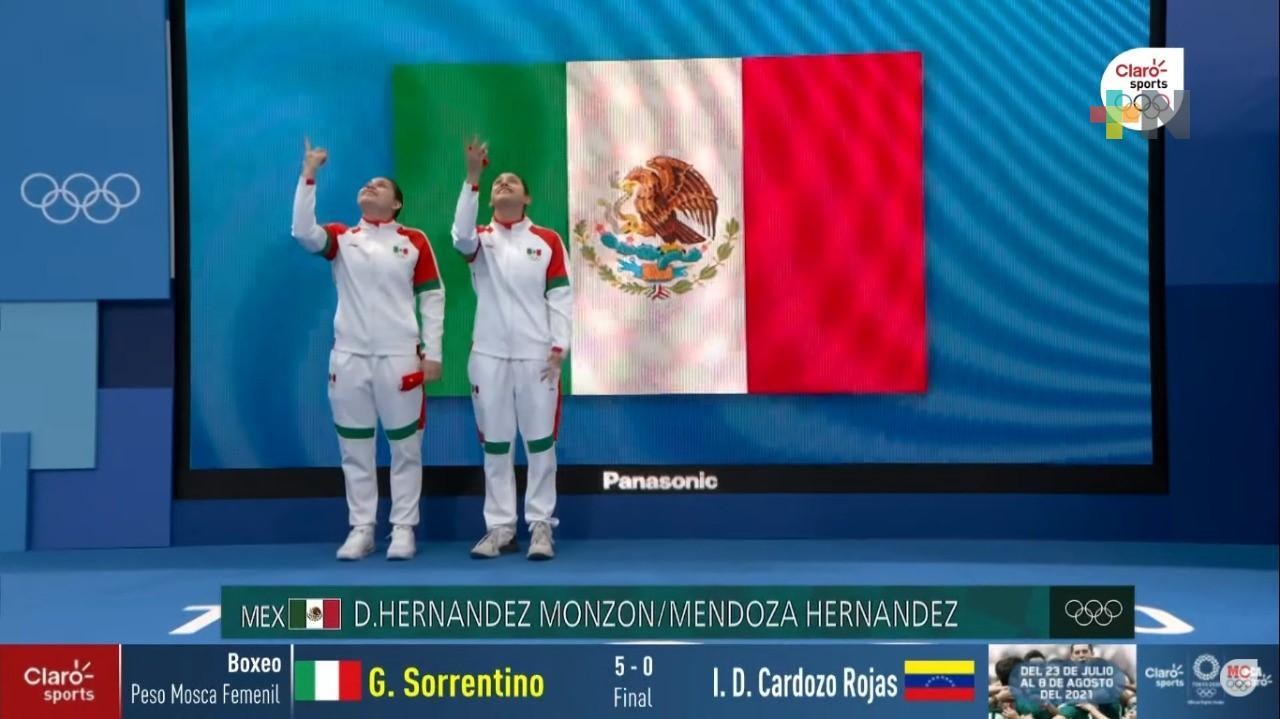 Feliz Dolores Hernández por su cuarto lugar olímpico