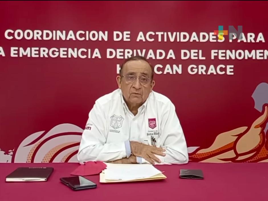 Avance significativo lleva censo de evaluación de daños en Poza Rica: alcalde