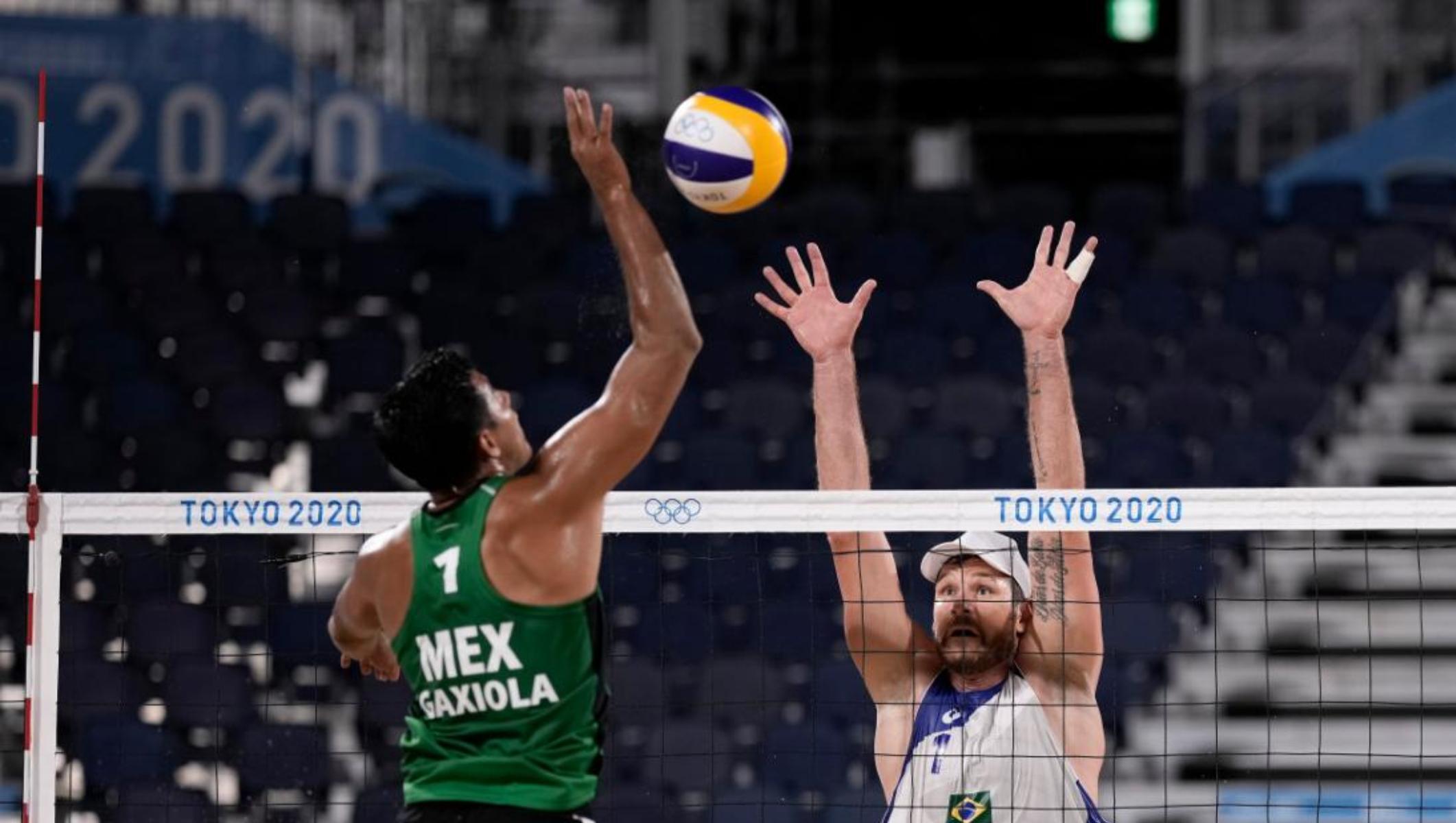 Brasil acaba con sueño olímpico de México en voleibol de playa