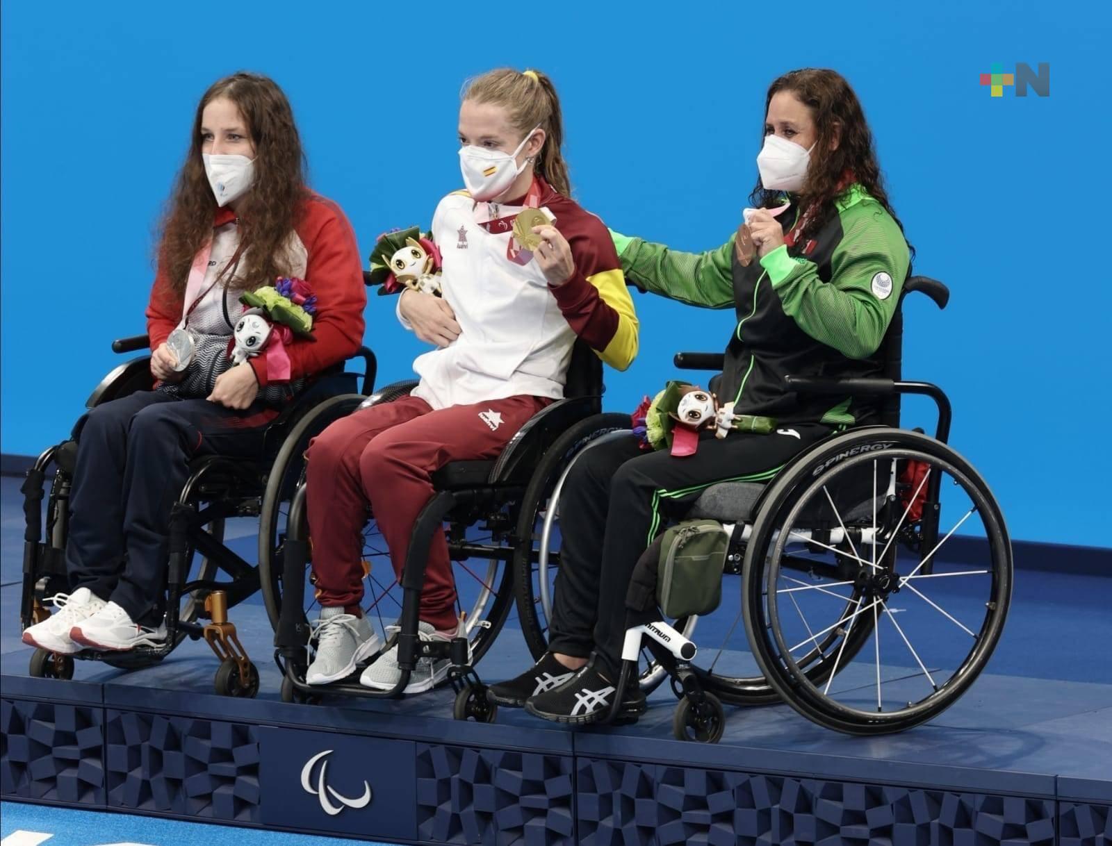 Nely Miranda gana bronce en Juegos Paralímpicos de Tokio 2020