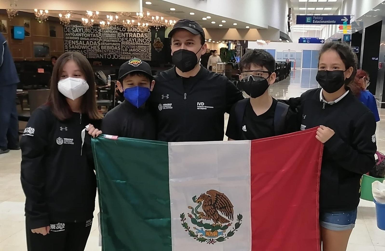 Tenismesistas veracruzanos participarán en Centroamericano Infantil