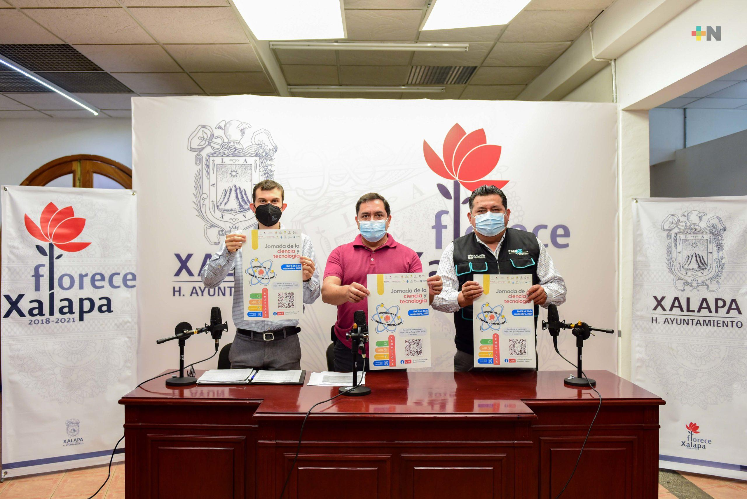 Xalapa anuncia Jornada de la Ciencia y Tecnología 2021