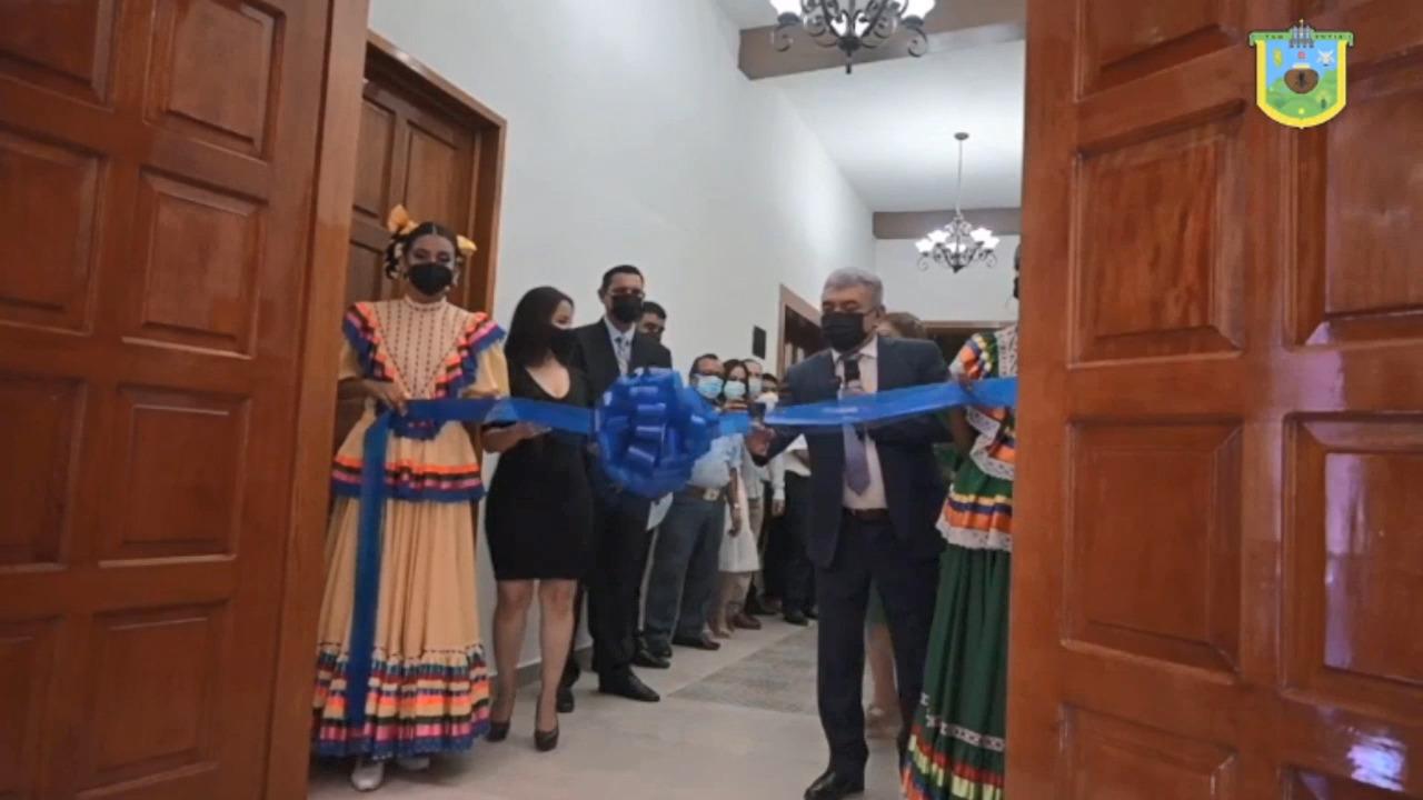 Autoridades inauguran Teatro de la Cultura en Tantoyuca