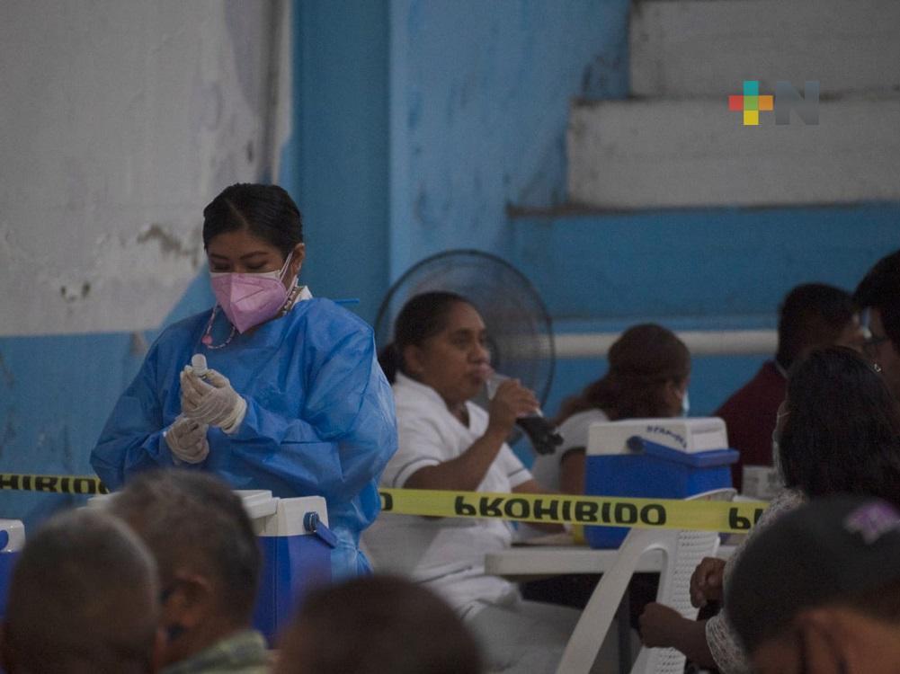 Concluyó Jornada de Vacunación anticovid en Tantoyuca para personas de 40-49 años