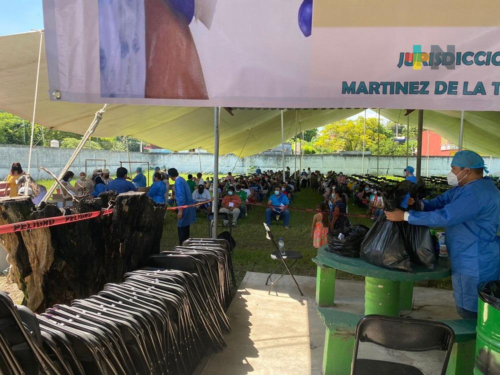 Copiosa participación martinense en Jornada de Vacunación