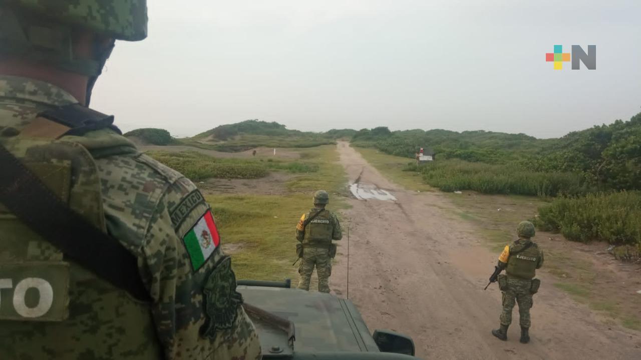 Sedena detectó aeronave sospechosa en norte de Veracruz