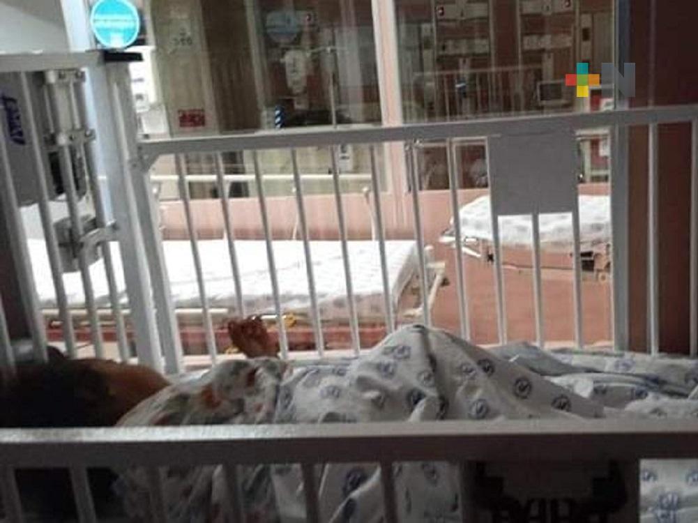 En Coatzacoalcos, madre solicita apoyo para tratamiento de su hija de tres años