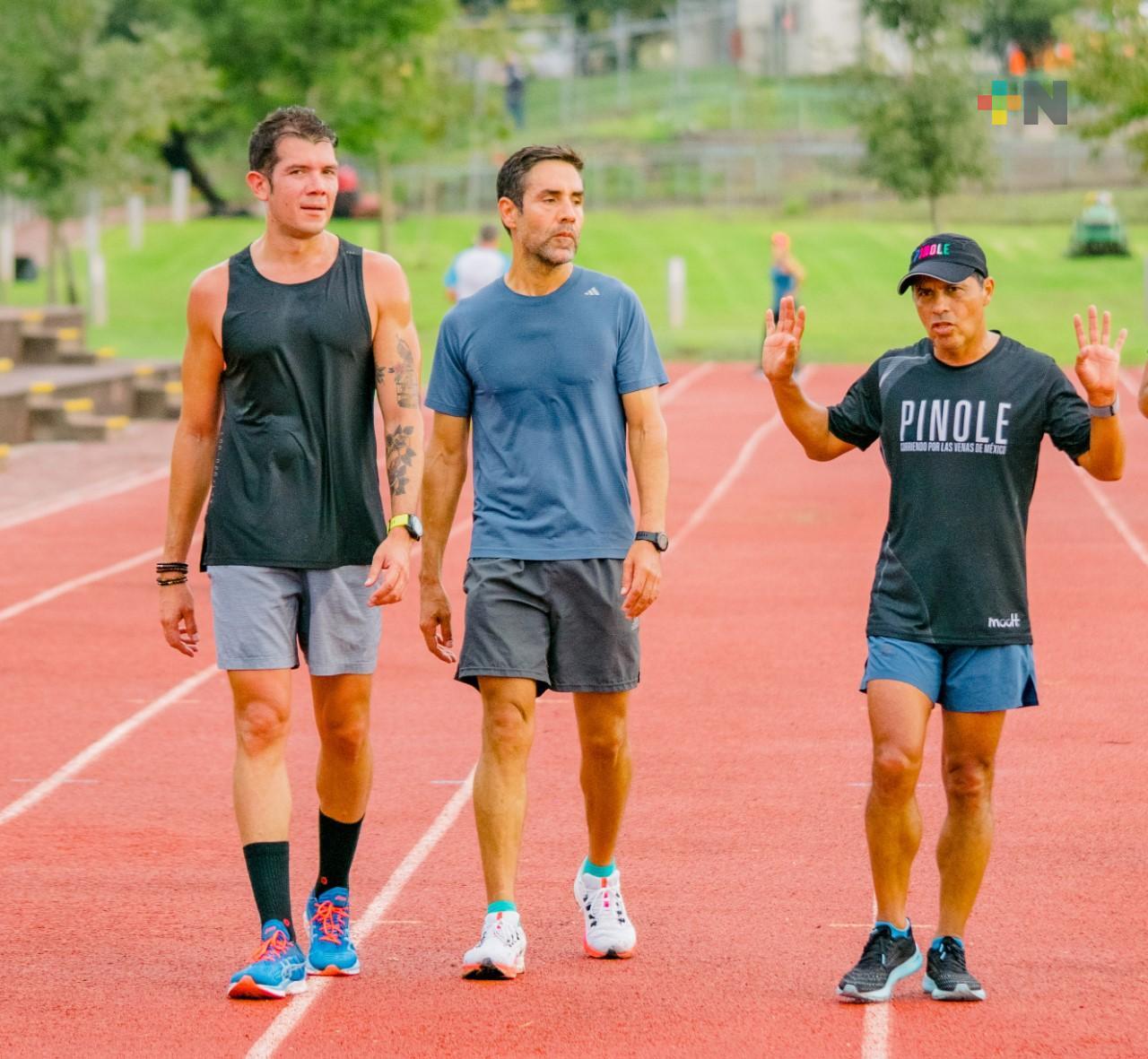 Germán Silva continúa entrenamientos rumbo a proyecto Pinole