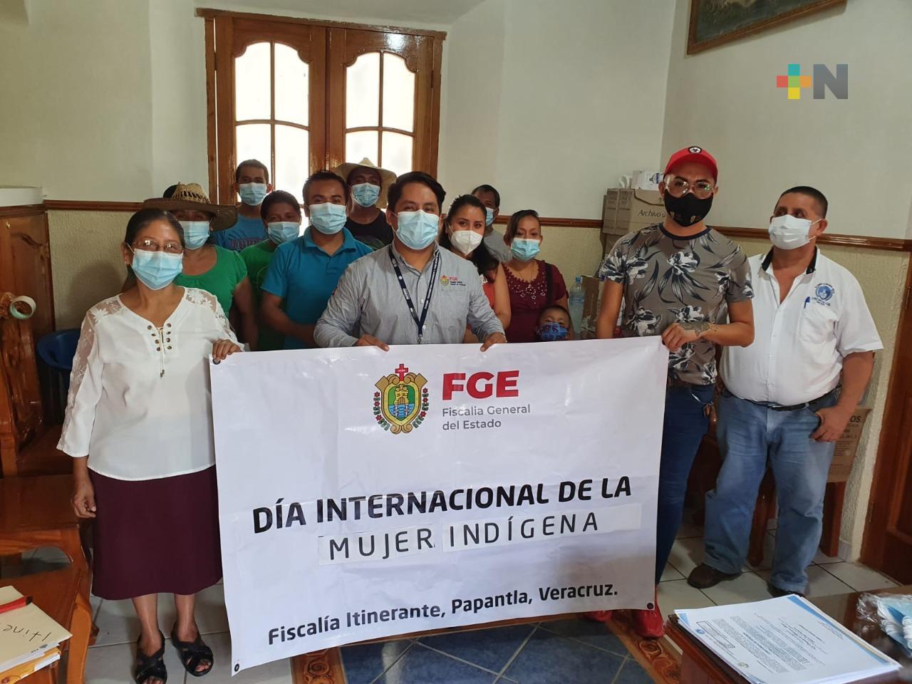 La FGE conmemoró el Día Internacional de la Mujer Indígena