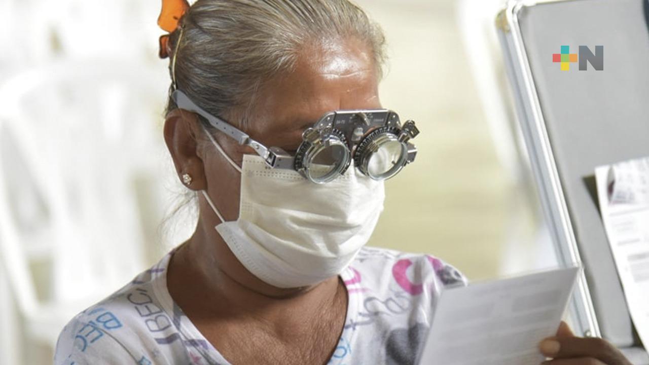 DIF Estatal beneficia a 471 personas en Tempoal, con salud visual