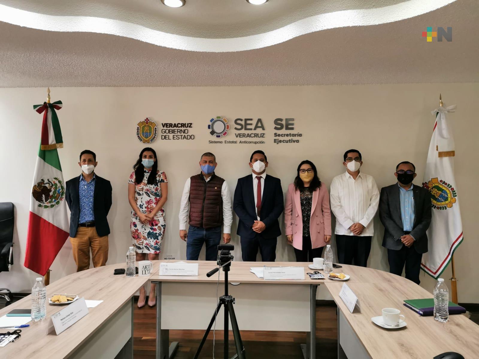 La CEAPP sesionó con el Sistema Estatal Anticorrupción