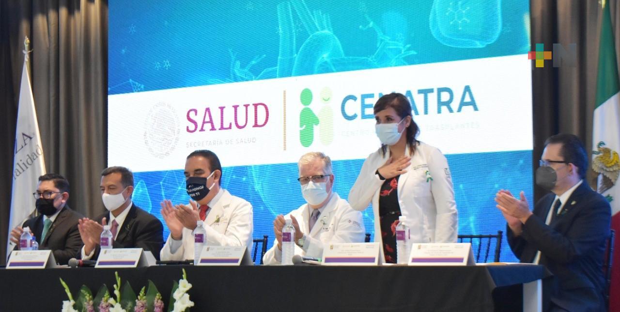 Reconocen a  IMSS por desempeño en reactivación de donación y trasplantes