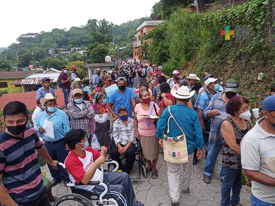 Inicia segunda dosis a personas de 40 a 49 años de la Huasteca y sierra norte de Veracruz