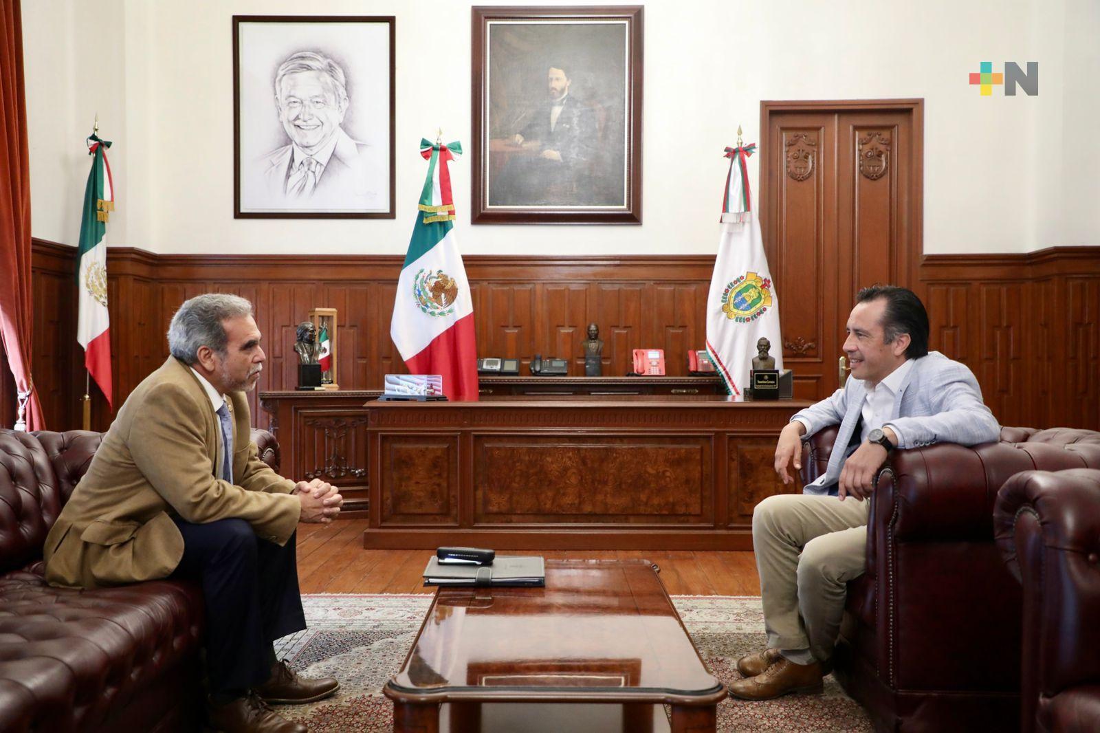 Respaldo institucional a la UV: Cuitláhuac García