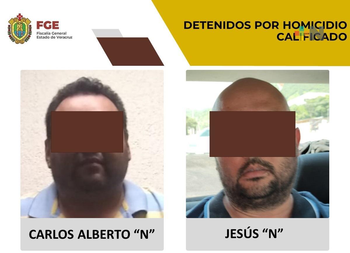 Policía Ministerial detiene a dos presuntos homicidas en Poza Rica
