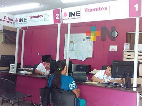 21 mil credenciales del INE se quedaron sin recoger en el distrito 03