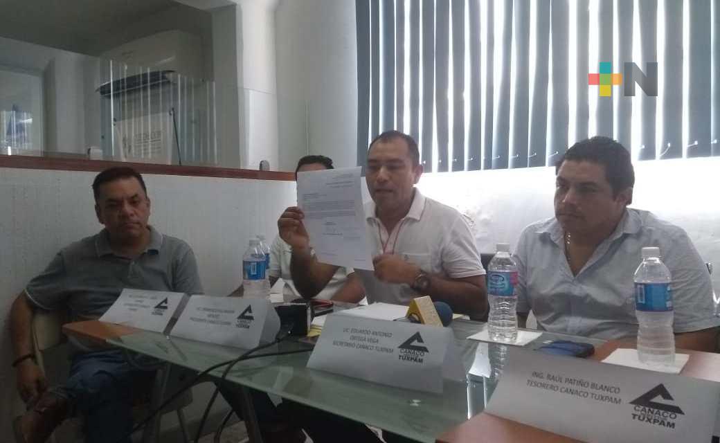 Firman convenio de colaboración Tecnológico de Álamo y Canaco-Tuxpan