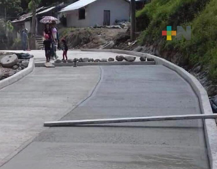 Alcalde de Altotonga cumple compromisos con obras de calidad