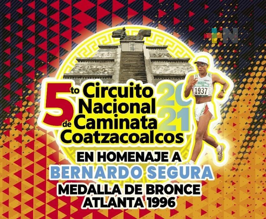 Convocan a Circuito Nacional de Caminata Coatzacoalcos 2021