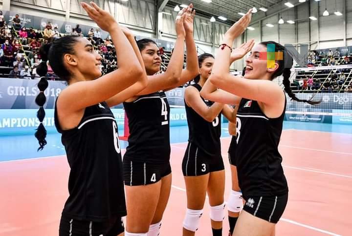México debutó con triunfo en Mundial de Voleibol sub-18