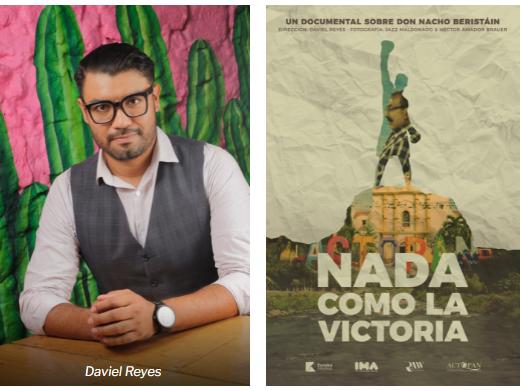 Presentan charla sobre cine y el documental Nada como la victoria