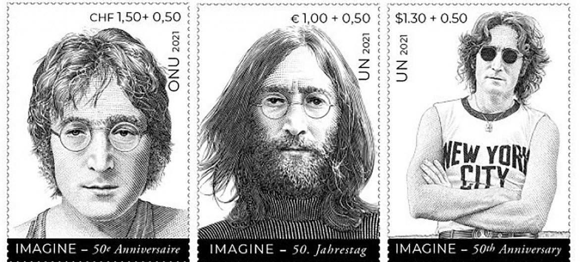 John Lennon, estampa un inspirador mensaje de paz, en la semana grande de la ONU