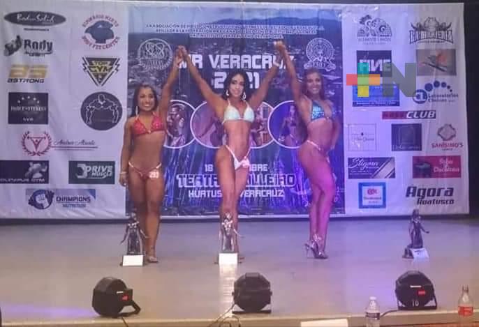 Jimena Basulto campeona del Míster Veracruz 2021