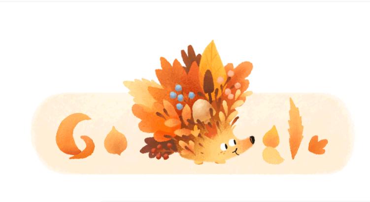 Celebra Google el inicio del otoño