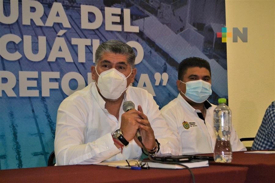El 4 de octubre se reabrirá el Centro Acuático Leyes de Reforma: José Alberto Nava