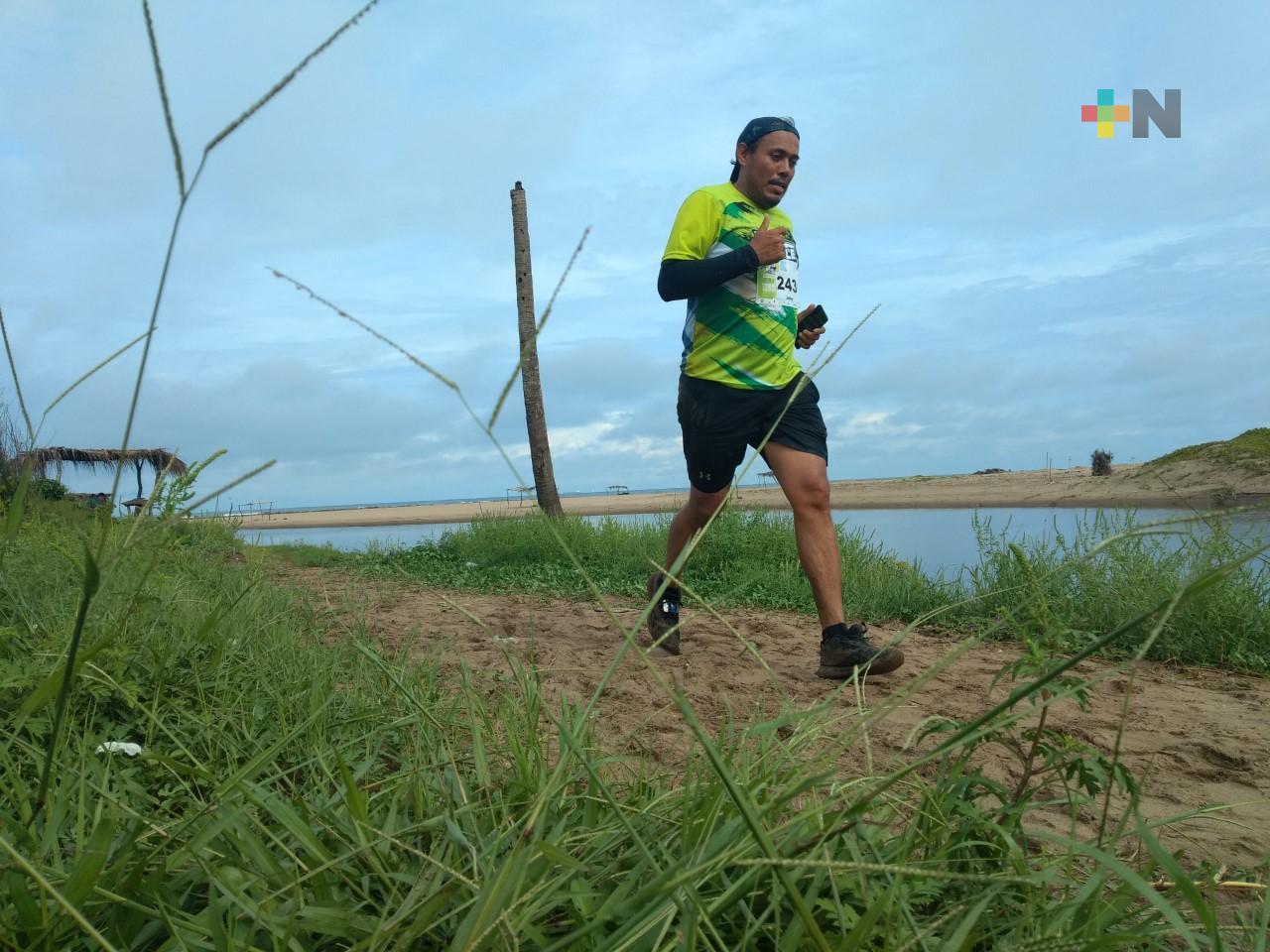 Alina Gutiérrez y Valente Domínguez ganaron trail running «The Battle Adventure»