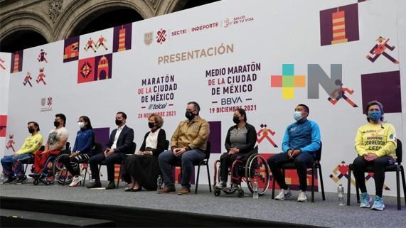 Presentaron el Maratón y Medio Maratón de la CDMX
