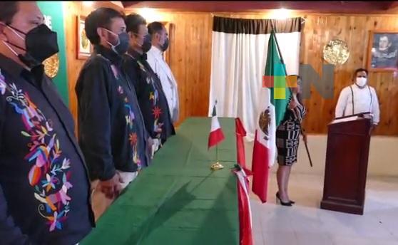 Zacualpan conmemoró virtualmente la Independencia de México