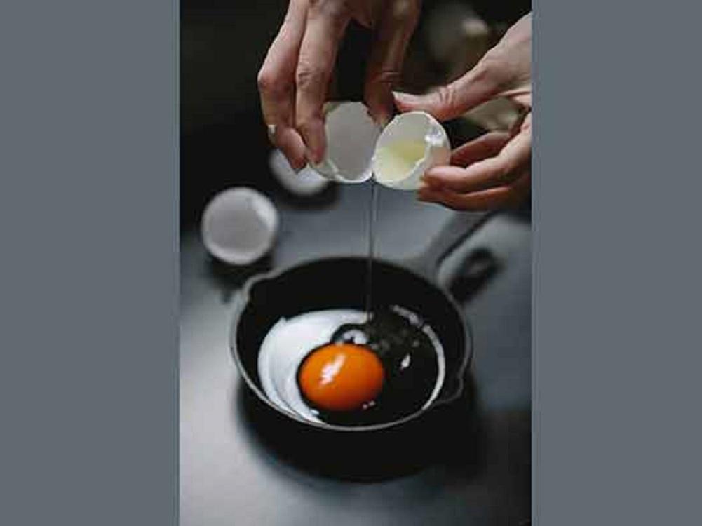 ¡El huevo es bueno!