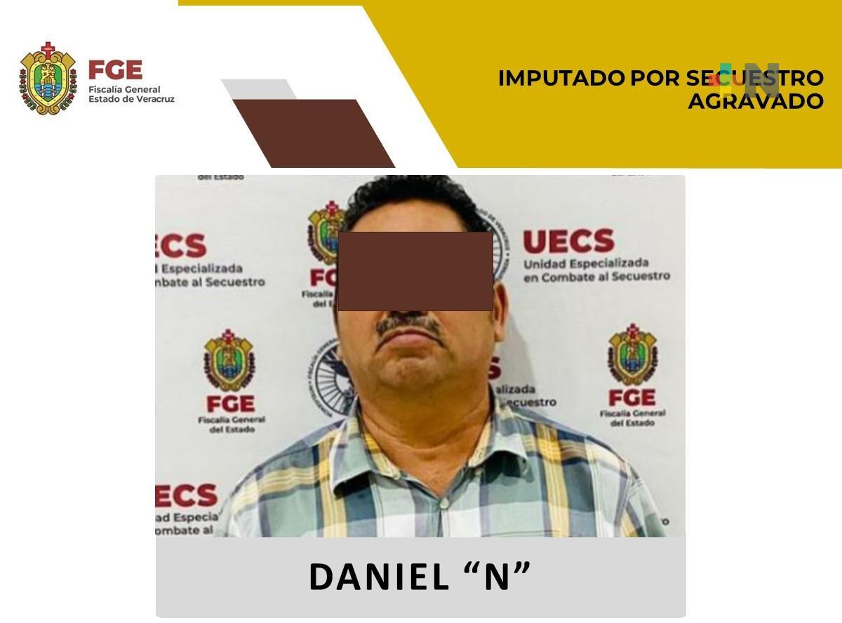 Detiene UECS a imputado por secuestro agravado en la zona sur