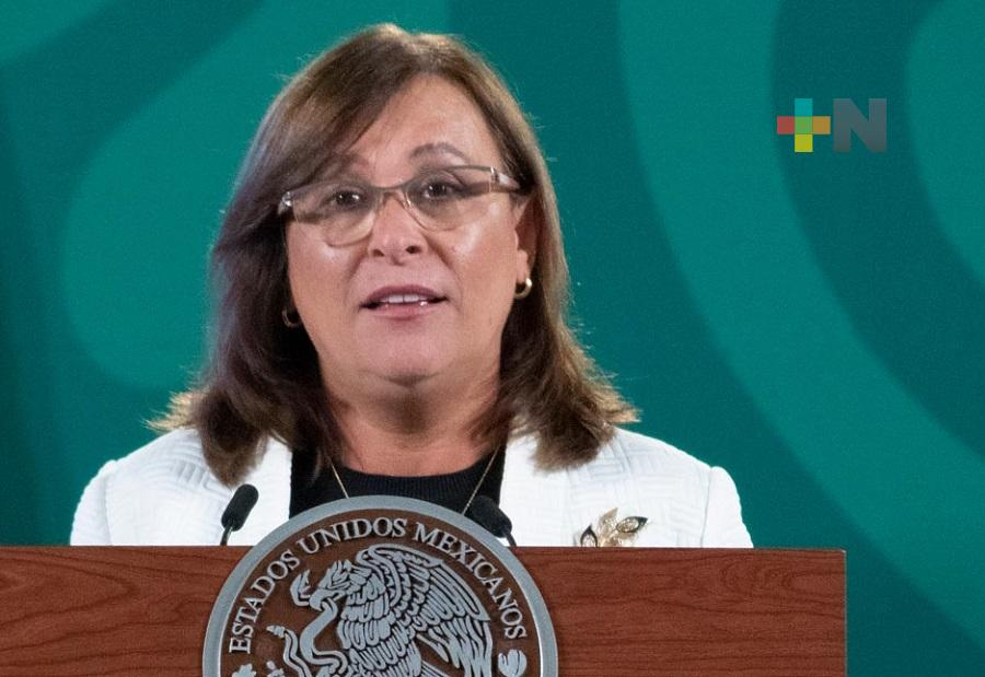 Rocío Nahle señala que manifestantes en Dos Bocas, son ajenos a empresa ICA Fluor