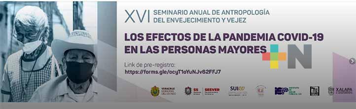 UV realizará XVI Seminario Anual de Antropología del Envejecimiento y Vejez