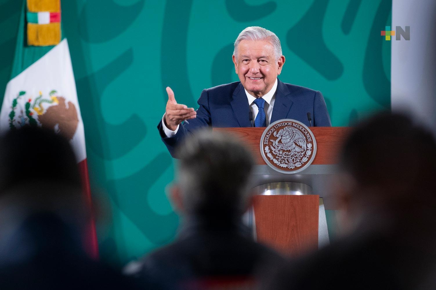 Presidente pidió al INE dar facilidades a ciudadanos para participar en consulta sobre Revocación de Mandato