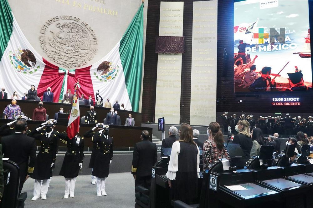 La Cámara de Diputados rinde homenaje a la Armada de México por su Bicentenario