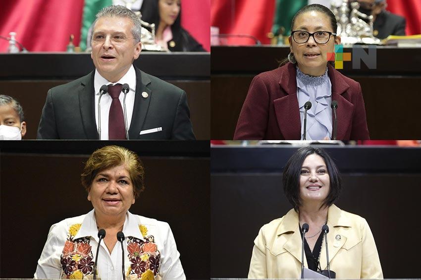 Sostienen diputadas y diputados de Morena diálogo con organizaciones civiles en defensa de la soberanía eléctrica