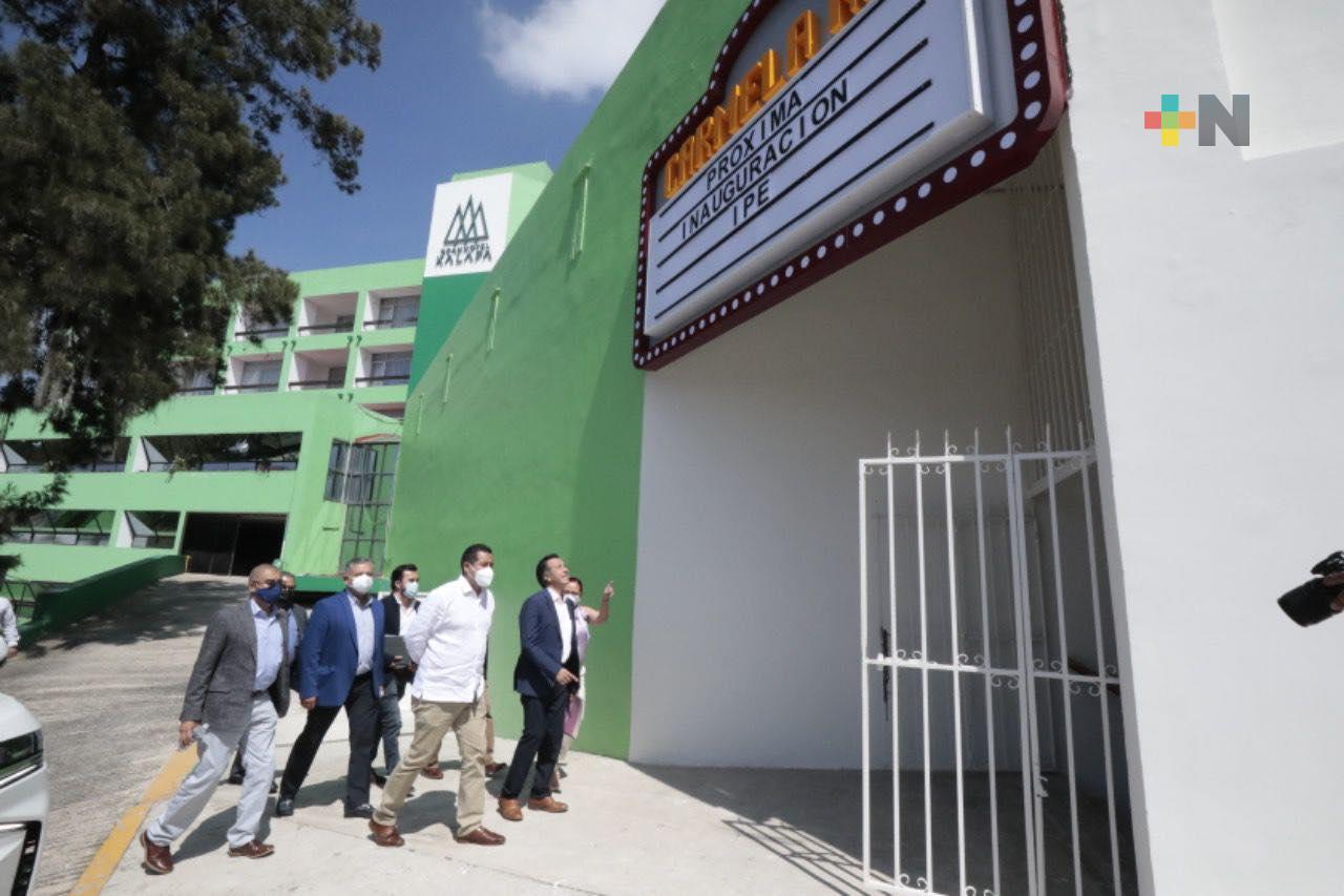 Rescatamos espacios culturales para beneficio de la ciudadanía: Gobernador