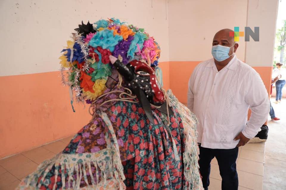 Coyolillo preserva en sus tradiciones, el valor cultural de cada región del estado: Eric Cisneros