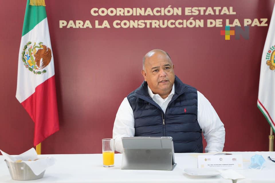 Reforzamos acciones en seguridad, mantenemos la paz y gobernabilidad en todo Veracruz: Eric Cisneros