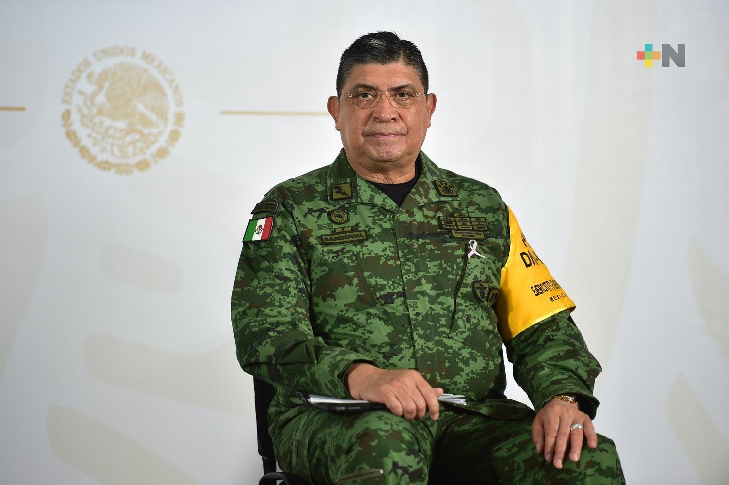 Veracruz, con menos homicidios dolosos: Sedena